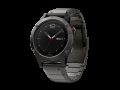 Часы Garmin Fenix 5 Sapphire Slate Gray with metal band